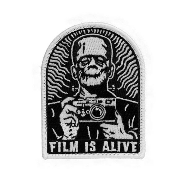 Film is Alive - Embroidered Patch (Glows in the Dark!)