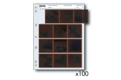 Negative Sleeves 120 Film - 100 Pack