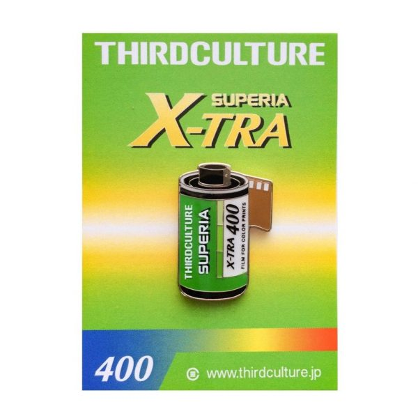 Superia X-Tra 400 Lapel Pin