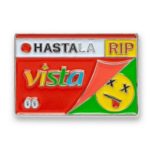 Hasta la Vista - Lapel Pin
