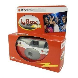 LeBox Flash 400 Disposable Camera