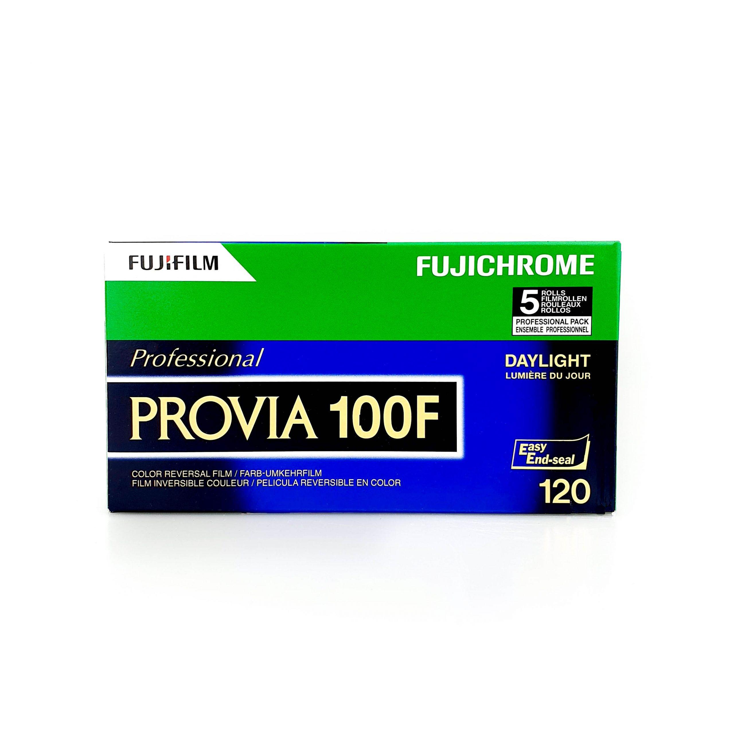 Fujifilm Provia 100F 120 Dia-Rollfilm Einzelfilm aus Set